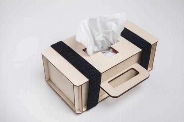 Tissuedoos-koffertje